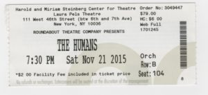"Ticket to ""The Humans"""
