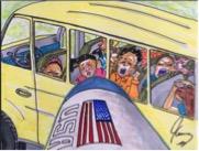 Jim Carrey political cartoons