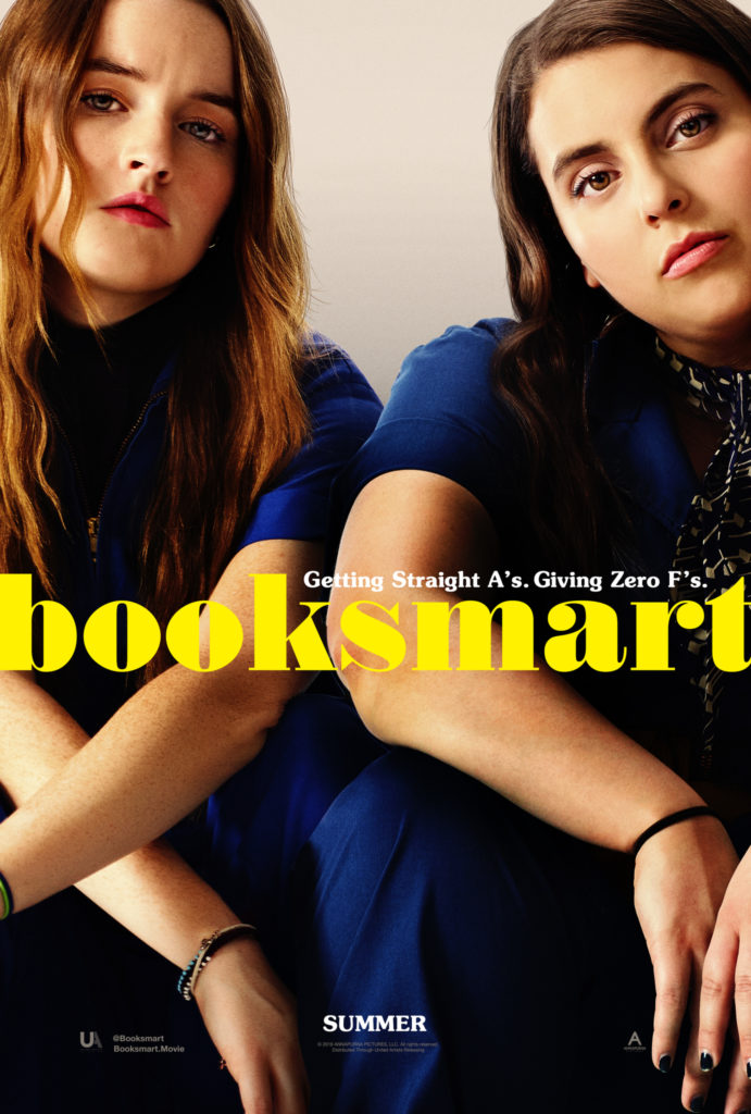 Booksmart:  the movie follows two academic superstars and high school best friends who feel major FOMO!